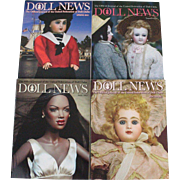 Doll News Magazine 2012 Complete Set of Four Issues UFDC Free Shipping (CUSA Only)