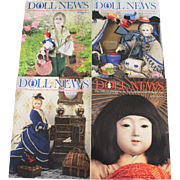 Doll News Magazine 2013 Complete Set of Four Issues UFDC Free Shipping (CUSA Only)