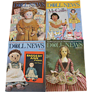 Doll News Magazine 2015 Complete Set of Four Issues UFDC Free Shipping (CUSA Only)