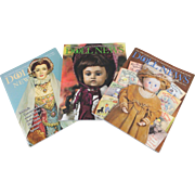 UFDC Doll News Magazine Three Issues Free Shipping (CUSA Only)