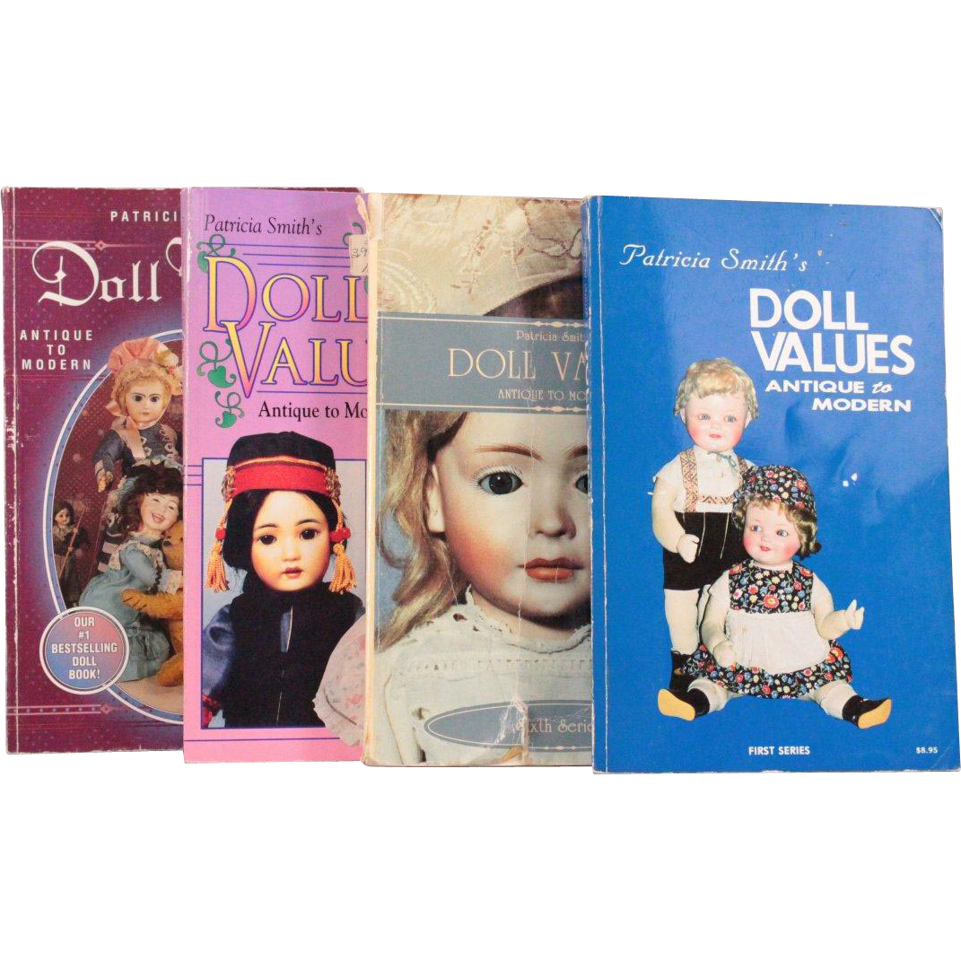 Doll Values Antique to Modern by Patricia Smith Set of Four Volumes