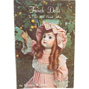 Book French Dolls in Color with Current Values by Patricia R Smith