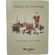Book Holiday Toy Trimmings Bertoia Auctions