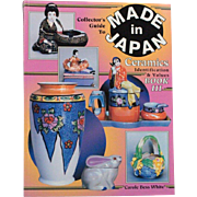 Book Collectors Guide to Made in Japan Ceramics Identification Values by Carole Bess White