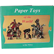 Book Paper Toys of the World by Blair Whitton