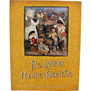 Doll Reference Book Playing Make Believe German French Miniatures Asian Wooden Clothing More