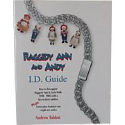 Book Raggedy Ann and Andy ID Guide by Andrew Tabbatt