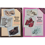 Books Make Doll Shoes Workbook One and Two by Lyn Alexander