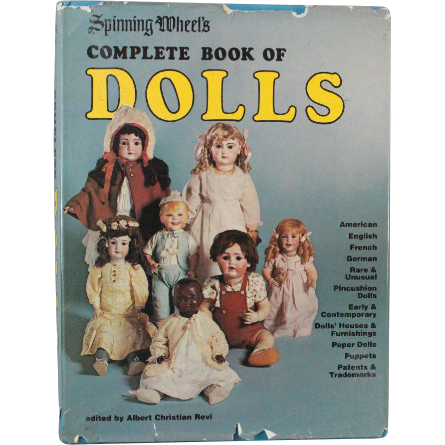 Book Spinning Wheels Complete Book of Dolls