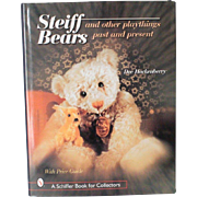 Book Steiff Bears and Other Playthings Past and Present