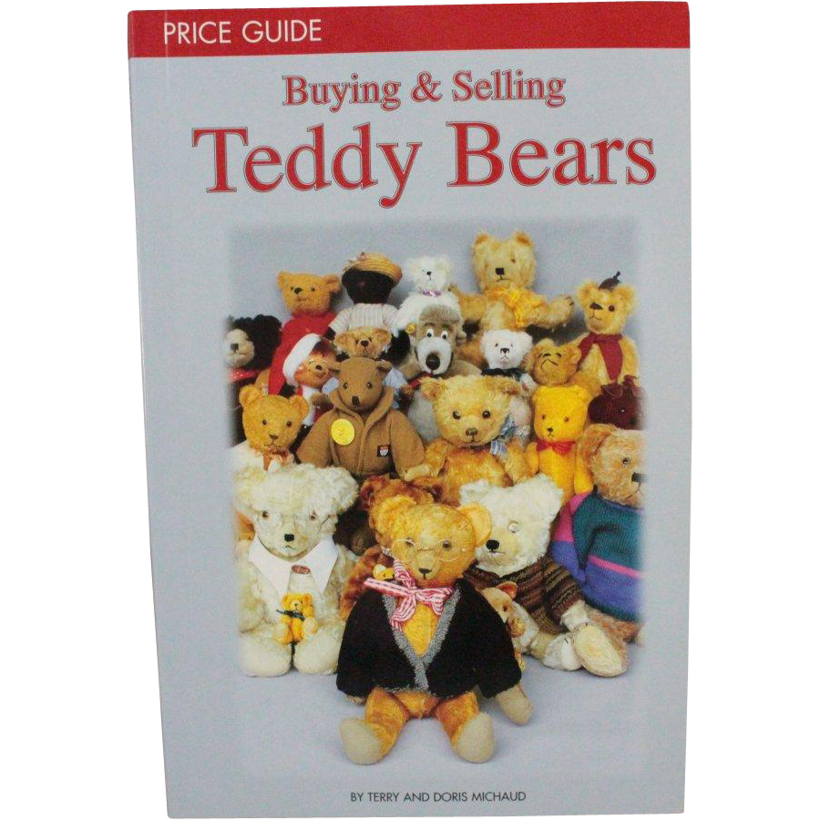 Book Teddy Bears Buying and Selling Price Guide by Terry and Doris Michaud