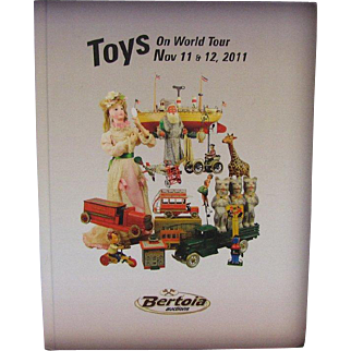 Doll Auction Catalog Toys on World Tour