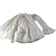 Antique Doll Undergarments Hand Stitched Matched Set Large Size