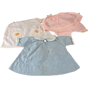 Doll Clothes Four Pieces c1930 Baby or Toddler