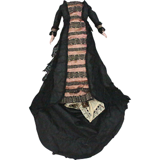 Antique Lady Doll Costume for 16 Inch Doll