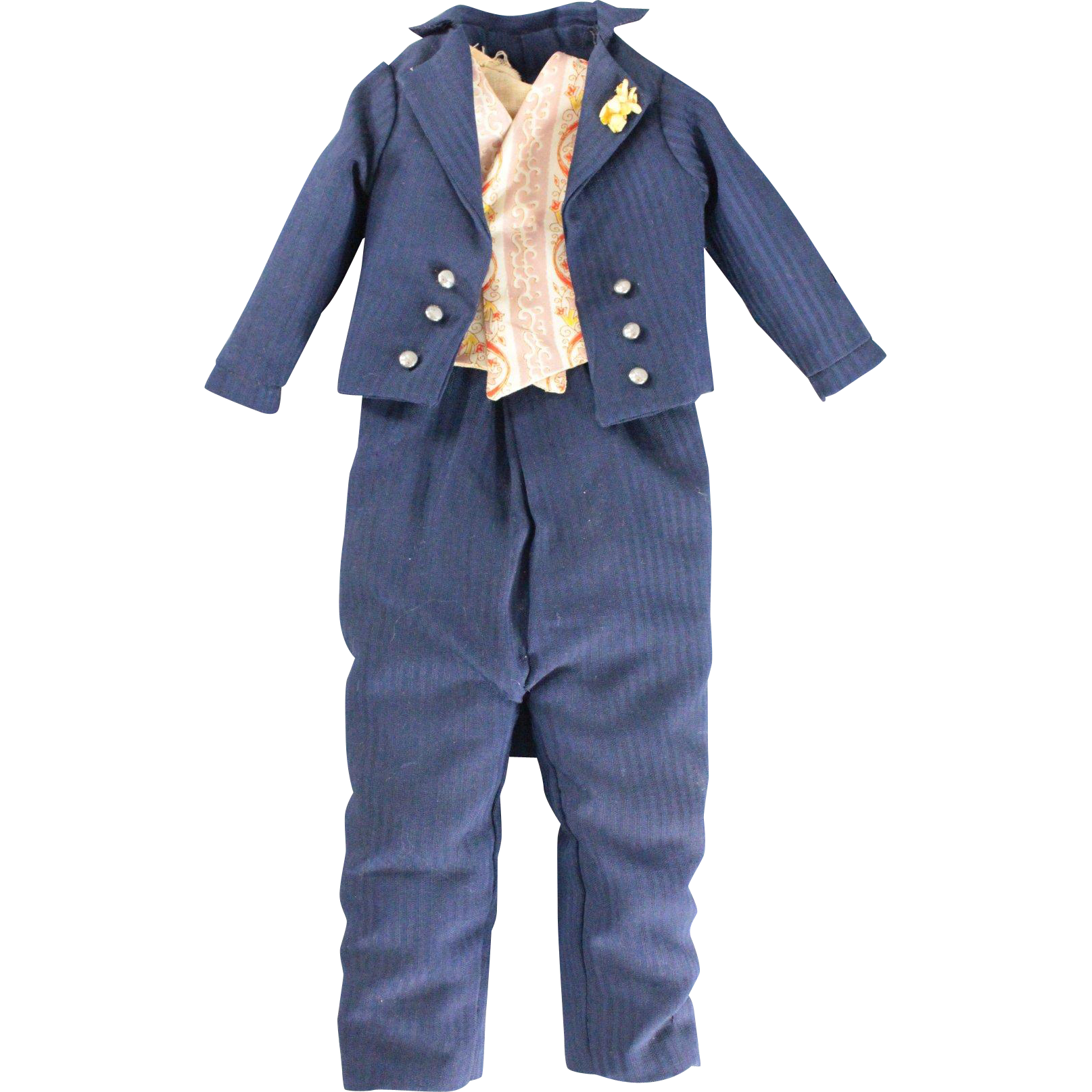 Male Doll Clothing Five Pieces Beautifully Made and Lined