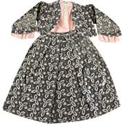 Vintage Doll Dress Three Pieces Medium Size
