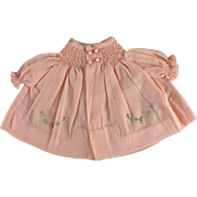 Vintage 1950s Doll Bed Jacket for Baby Dolls