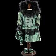 Vintage Bebe Doll Dress Hat Shoes Underwear Set Complete Ensemble