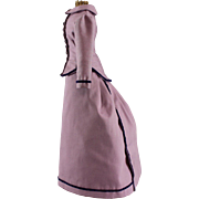 Fashion Doll Gown Four Pieces Hand Made Vintage Lavender
