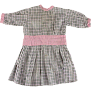 Antique Doll Dress Possibly Factory Made for Larger Doll