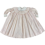 Early Cotton Doll Dress Cartridge Pleated Yoke Loose Fitting Suits Many Doll Types