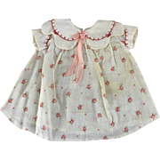 Vintage Doll Dress and Slip 1930 - 1940 Patsy or Compo Doll