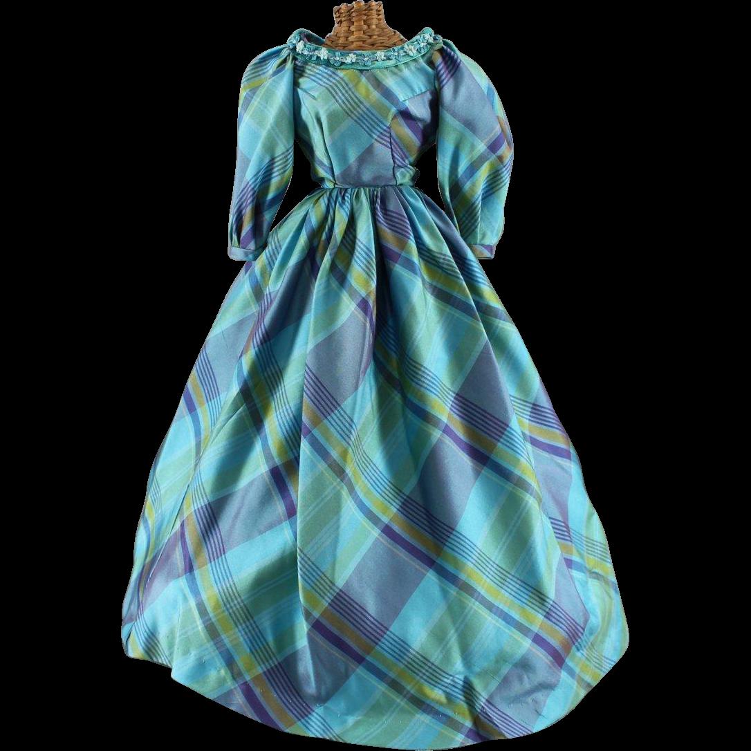 Vintage Doll Dress Lovely Medium Size