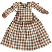 Vintage Doll Dress Two Pieces