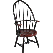 Vintage Miniature Windsor Chair for Doll