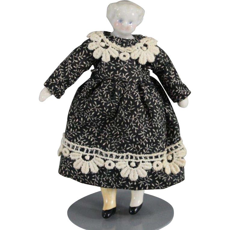 Dollhouse Doll China Blond 3.5 Inches
