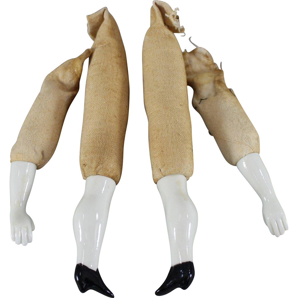 China Doll Limbs Set of Replacement Arms and Legs