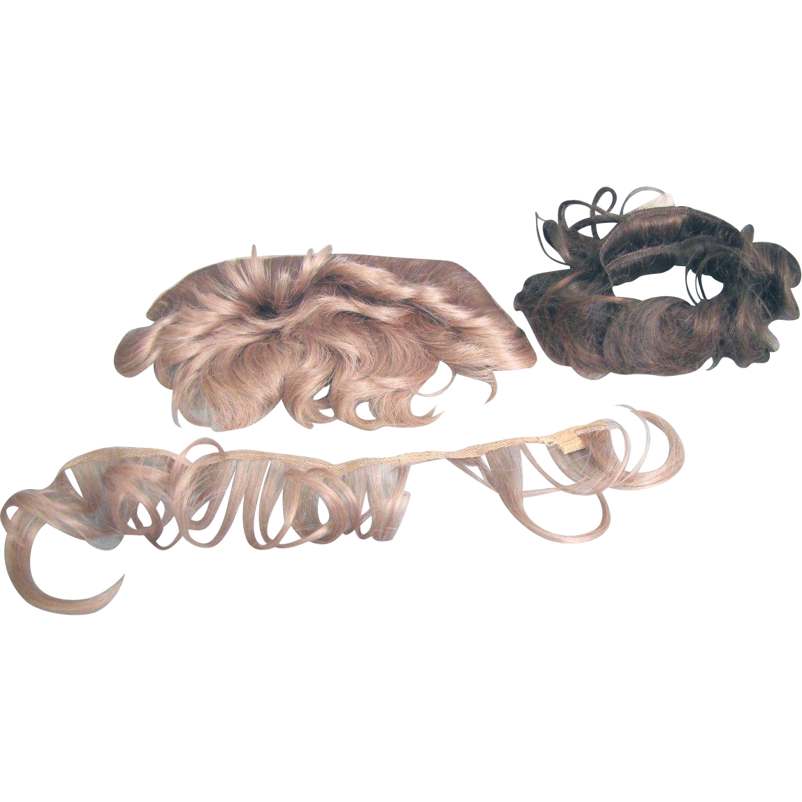 Vintage Doll Wig Parts for Wig Making MAKE OFFER