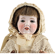 Hilda American Made Bisque Character WWI Embargo Doll