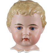 German Bisque Molded Hair Child Damaged