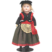 SFBJ Doll All Original Normandy Costume Painted Eyes Final Reduction