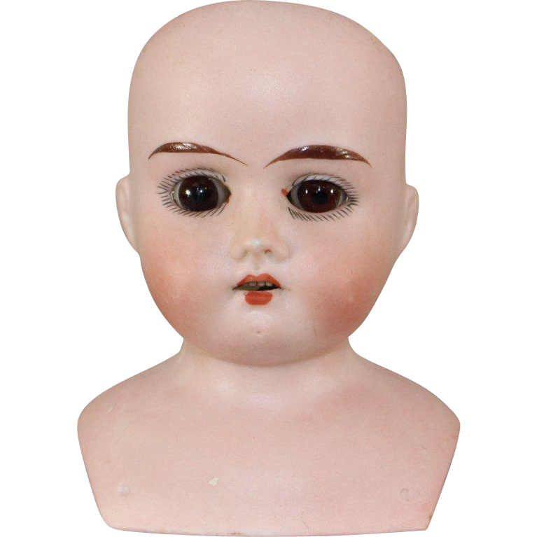 German Bisque MABEL Shoulder Head Sleep Eyes