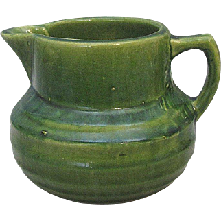 McCoy Early Green Buttermilk Pitcher No Damage