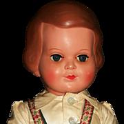 "Wonderful Early Vintage 18"" Celluloid German Doll"