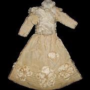 Fabulous Antique French Fashion Doll Dress,