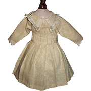 Early Vintage Small Doll Dress