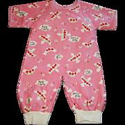 Wonderful Pair of Vintage Baby Doll PJ's, DyDee Baby, Tiny Tears