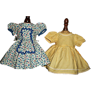 2 Sweet Vintage Doll Dresses
