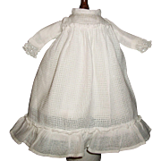 Small Antique Doll Dress