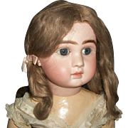 Lovely Antique Mohair Doll Wig