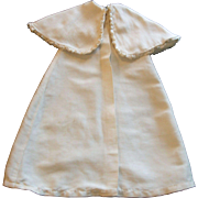 Lovely Antqiue Small Silk Doll Cape. Rushed Ribbon Trim