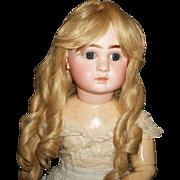 Pretty Vintage Human Hair Doll Wig
