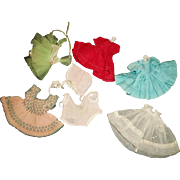 7 Pcs of Vintage Doll Clothing, Ginny, Alex