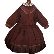 Wonderful Early Vintage Fashion Doll 2 Piece Dress