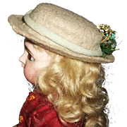 Nice Early Vintage Fashion Doll Hat